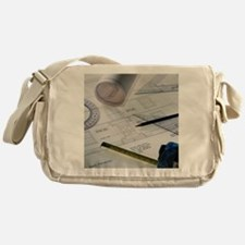 Architectural drawings Messenger Bag