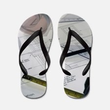 Architectural drawings Flip Flops