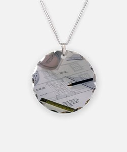 Architectural drawings Necklace