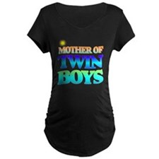 Twin boys mother T-Shirt