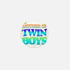 Twin boys mother Mini Button
