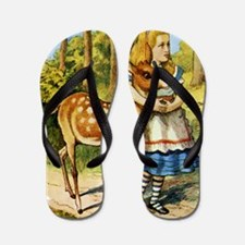 Alice  DEER_SQ Flip Flops