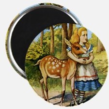 Alice  DEER_SQ Magnet