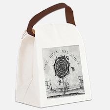 Rosicrucian mystical symbol Canvas Lunch Bag