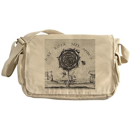 Rosicrucian mystical symbol Messenger Bag