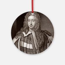 Viscount Bolingbroke, English state Round Ornament