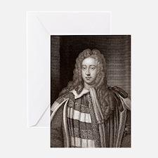 Viscount Bolingbroke, English states Greeting Card