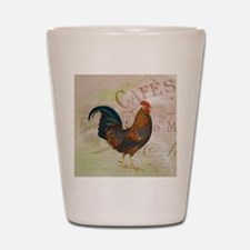 Cafe Rooster Shot Glass