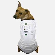 Systems biology, flow chart Dog T-Shirt