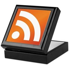 Feed Me RSS icon Keepsake Box