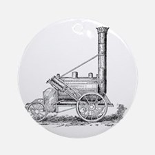 Stephenson's Rocket, 1829 Round Ornament