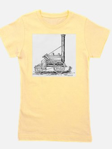 Stephenson's Rocket, 1829 Girl's Tee