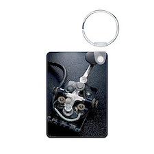 Telegraph Key (Morse Code) Keychains