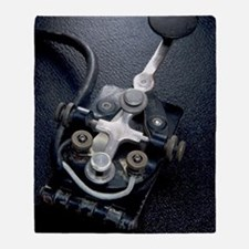 Telegraph Key (Morse Code) Type J-37 Throw Blanket