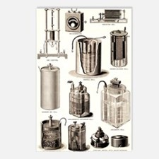 Early electrical equipmen Postcards (Package of 8)