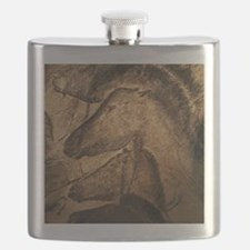 Stone-age cave paintings, Chauvet, France Flask