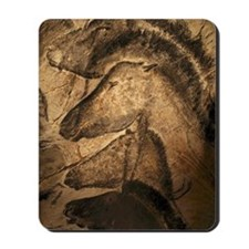 Stone-age cave paintings, Chauvet, Franc Mousepad