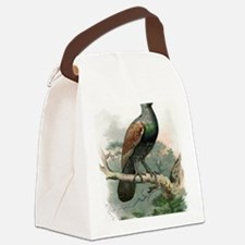 Capercaillie, historical artwork Canvas Lunch Bag