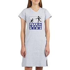 free+the+leash+kids Women's Nightshirt