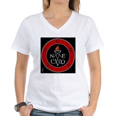 Coven Magick Sigil Women's V-Neck T-Shirt
