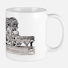Engraving of the Bullock Rotary Press o Mug