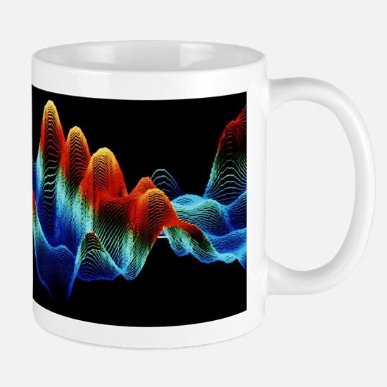 F/col STM image of DNA (isometric proje Mug
