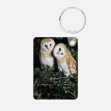 Barn owls Keychains