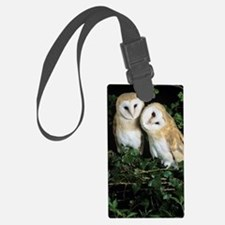 Barn owls Luggage Tag