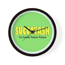 Classic Succotash Logo Wall Clock