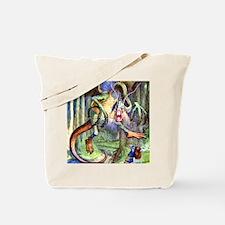 Alice Jabberwocky_SQ Tote Bag