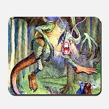 Alice Jabberwocky_SQ Mousepad