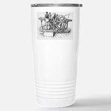 Napier's printing machi Travel Mug