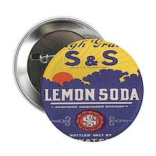 """lemon soda 2.25"""" Button"""