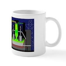 Aluminium production Mug