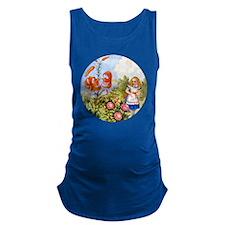 Alice Talking Flowers_RD Maternity Tank Top