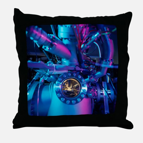 Mass spectrometer Throw Pillow
