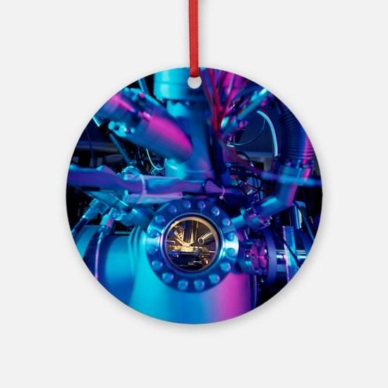 Mass spectrometer Round Ornament