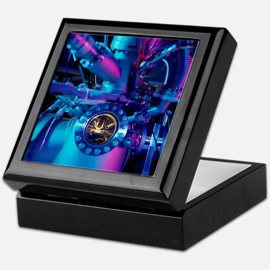 Mass spectrometer Keepsake Box
