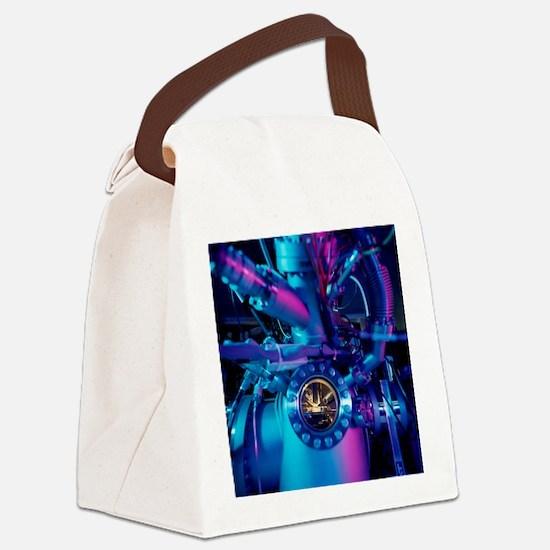 Mass spectrometer Canvas Lunch Bag
