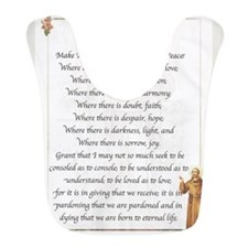 Saint Pope Francis Simple Prayer Bib