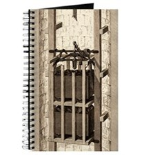 Mining safety cage, 19th century Journal