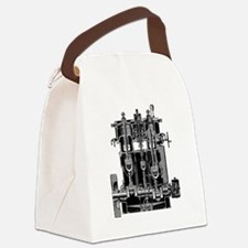 Bellis and Morcom steam engine Canvas Lunch Bag