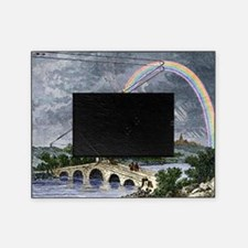 Rainbow optics, historical artwork Picture Frame