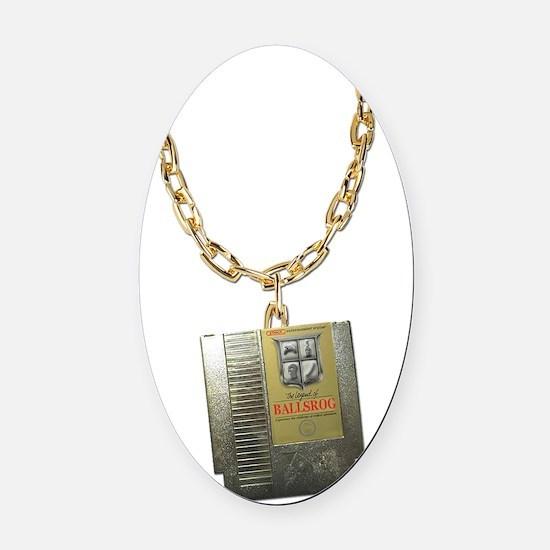 Ballsrogs Zelda Chain Oval Car Magnet