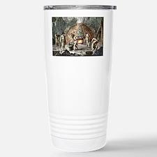 Early humans smelting i Travel Mug