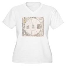 Solar system map  T-Shirt