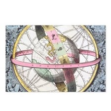 Earth's celestial circles Postcards (Package of 8)