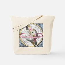 Earth's celestial circles, 1708 artwork Tote Bag