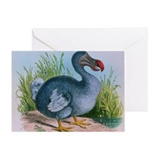 Extinct dodo Greeting Card