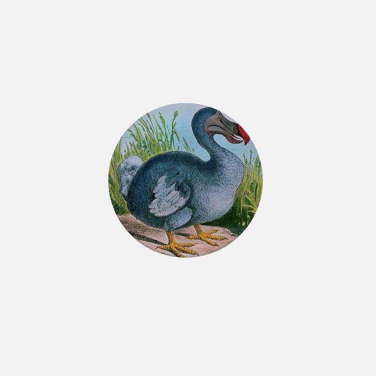 Extinct dodo Mini Button